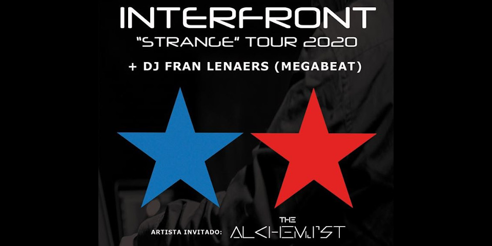 Concierto de Interfront y The Alchemist